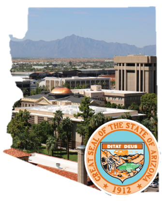 MCTC State of Arizona Pic with State Seal