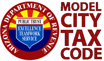 Model City Tax Code logo